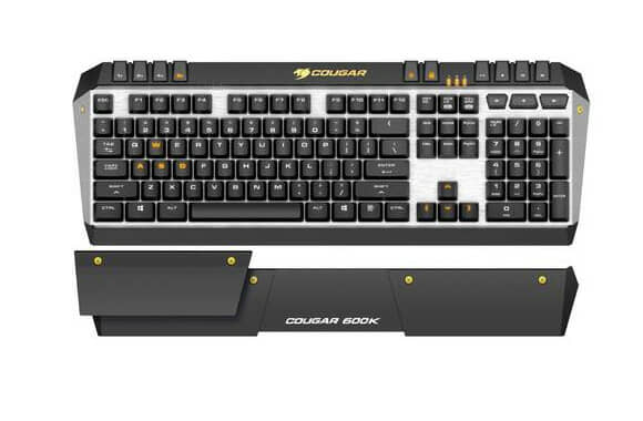COUGAR launches 600K Gaming Keyboard