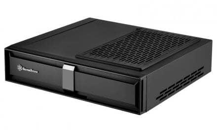 SilverStone Release The Milo ML08 Super Slim Mini-ITX Console Case