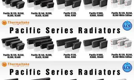 Thermaltake Launches Full Range of Pacific RL and R Series Radiators