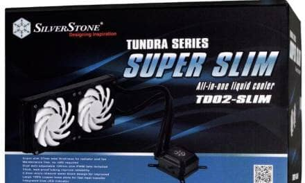 SilverStone Announce New Slim TD03 and TD02 AIO Coolers