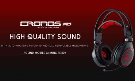 Tt eSPORTS unveils the NEW CRONOS AD Premium Gaming Headset