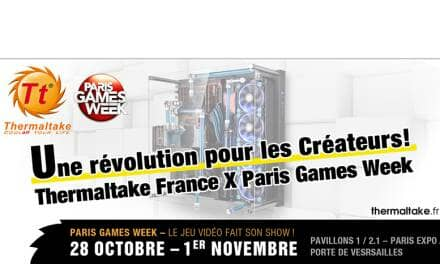 Thermaltake and Top French E-tailer LDLC Debuts at Paris Games Week 2015