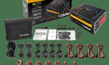 Thermaltake Releases Toughpower DPS G RGB 1250W Titanium