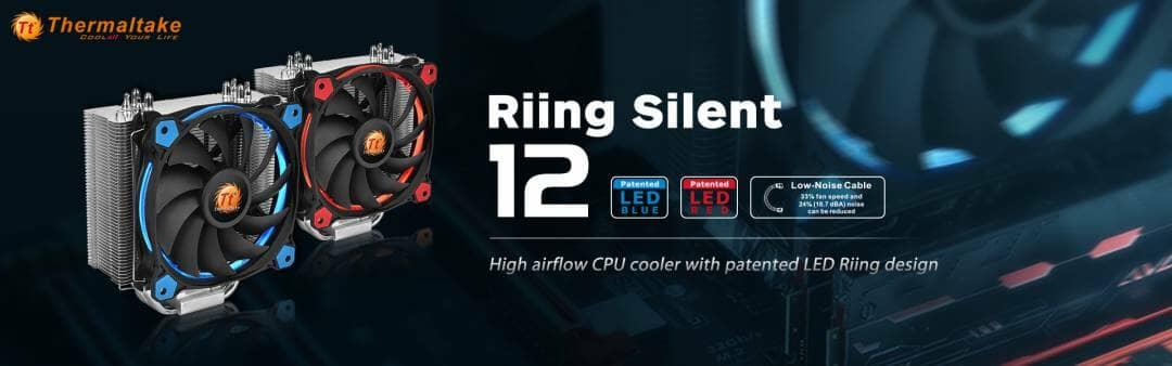 Thermaltake Riing Silent 12 CPU Cooler Series
