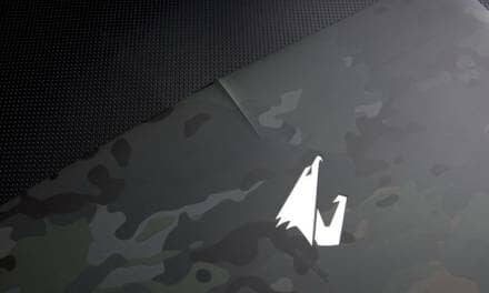 """AORUS Announces 2016 Limited Edition Camouflage Design 15.6"""" Laptop in the UK"""