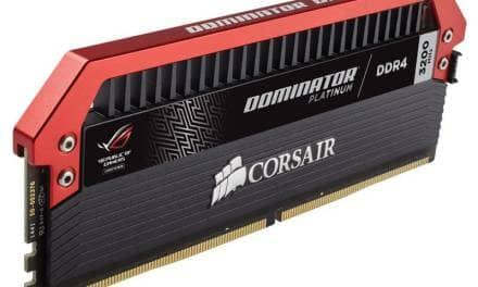 CORSAIR Announces Dominator Platinum ROG Edition
