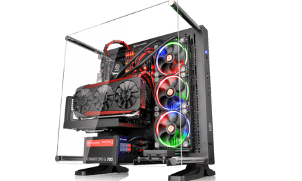 Thermaltakes New Core P3 ATX Wall Mount Case