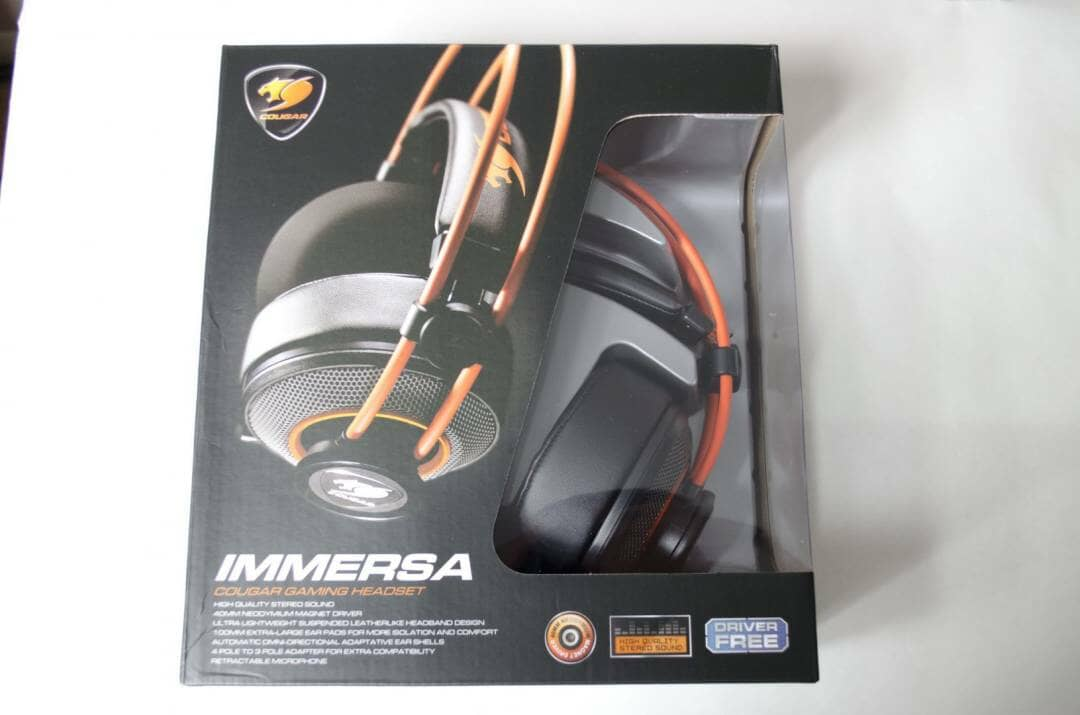 cougar immera headset review