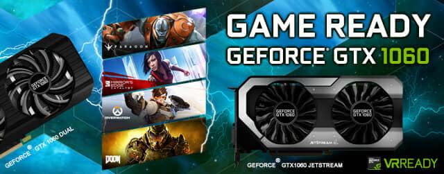 Palit released GeForce® GTX 1060 JetStream Series