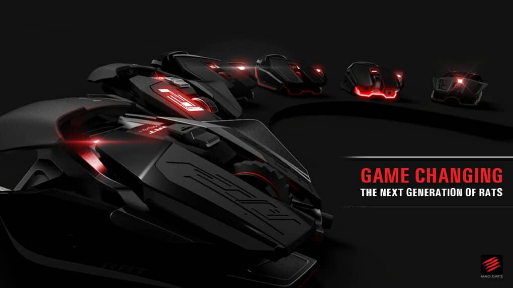 Mad Catz® Announces New Range of RAT™ Gaming Mice