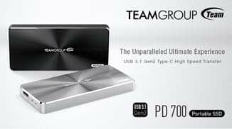 Team Group's Latest High Speed External Storage Product PD700 Was Awarded the 2016 Taiwan Excellence Award