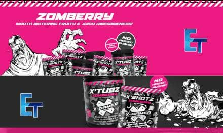 X-Gamer Zomberry Energy Tub Closer Look