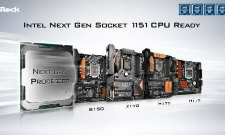 ASRock 100 Series Motherboards Support Next Generation Socket 1151 Intel® Processors
