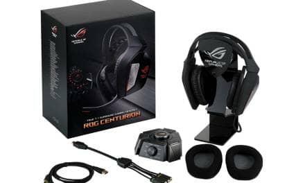 ASUS Republic of Gamers Announces Centurion Headset