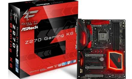 ASRock Fatal1ty Z270 Gaming K6 Got Tom's Hardware 2017 Editor Approved Award