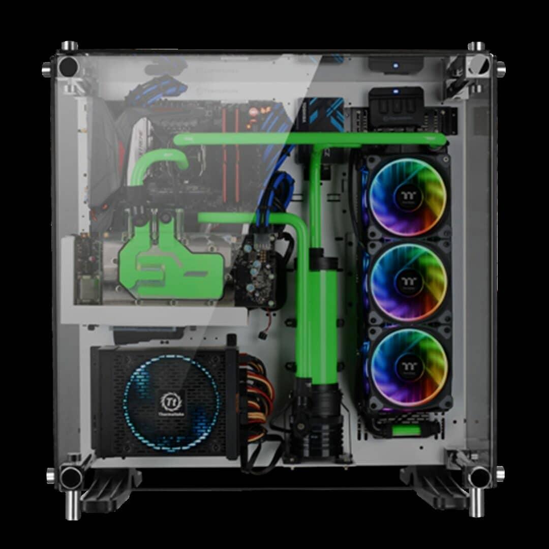 Thermaltake New Riing Plus 12 LED RGB Radiator Fan_3