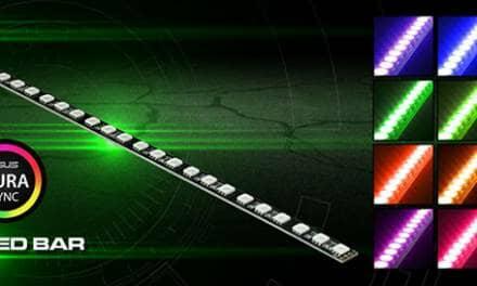 Nanoxia RGB Rigid LED – ASUS AURA SYNC certified