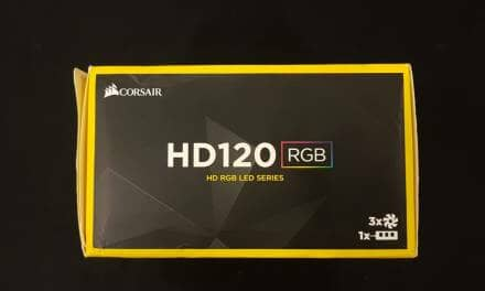 Corsair High Static Pressure HD120 RGB Fans Review