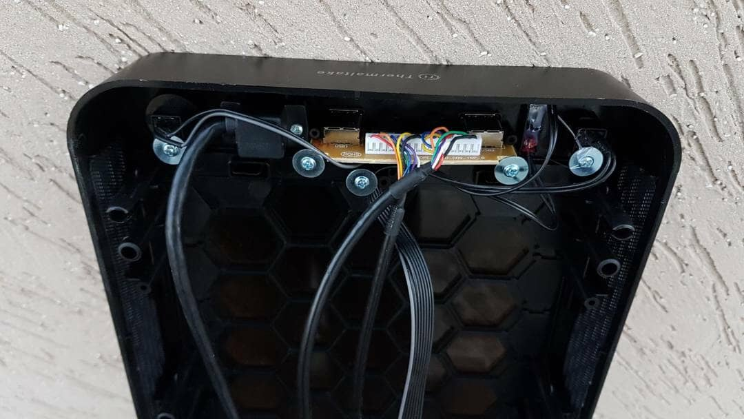 Main Front Panel back