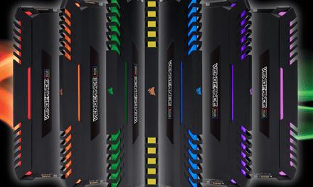 CORSAIR Launches VENGEANCE RGB DDR4