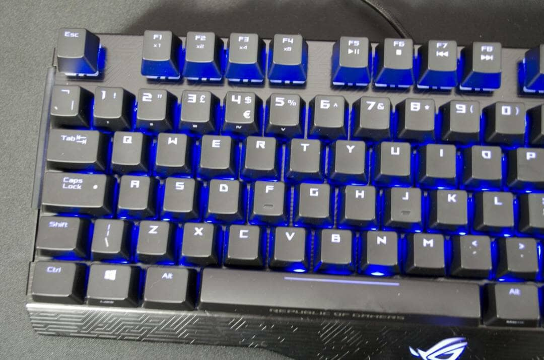 ASUS ROG CLAYMORE mechanical gaming keybaord review_2