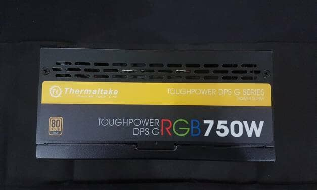 Thermaltake Toughpower DPS G RGB 750W PSU Review