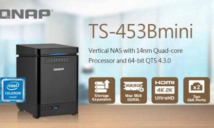 QNAP Announces the TS-453Bmini Vertical NAS