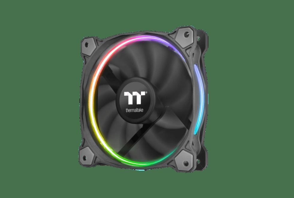Thermaltake Riing LED RGB Radiator Fan TT Premium Edition