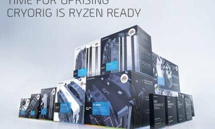 CRYORIG Readies Full AM4 Line Up and Free Upgrade Kit