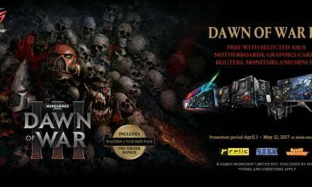 ASUS Announces Dawn of War III Game Bundles