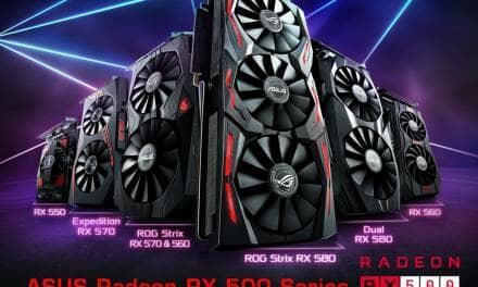 ASUS Announces Radeon RX 500 Series Gaming Graphics Cards