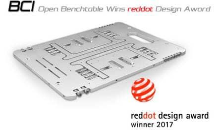 BC1 Wins Red Dot Product Design Award