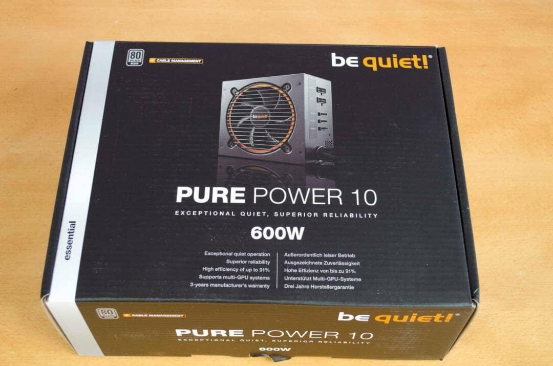 be quiet pure power 10 600w psu