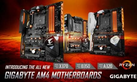GIGABYTE Launches AMD A320 Chipset Motherboards