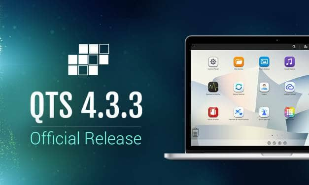 QNAP Officially Releases QTS 4.3.3