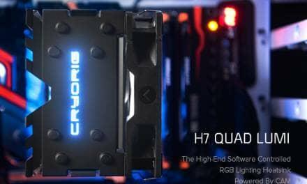CRYORIG Releases NZXT CAM Powered H7 Quad Lumi RGB Cooler