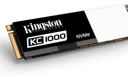 Kingston Introduces KC1000 NVMe PCIe SSD