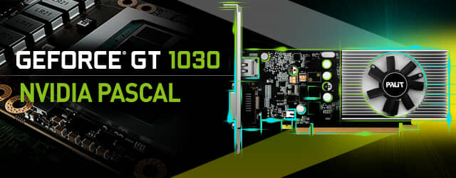 Palit releases new GeForce® GT 1030
