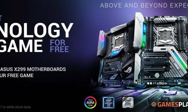 ASUS ROG Announces Free AAA Game with X299 Purchases