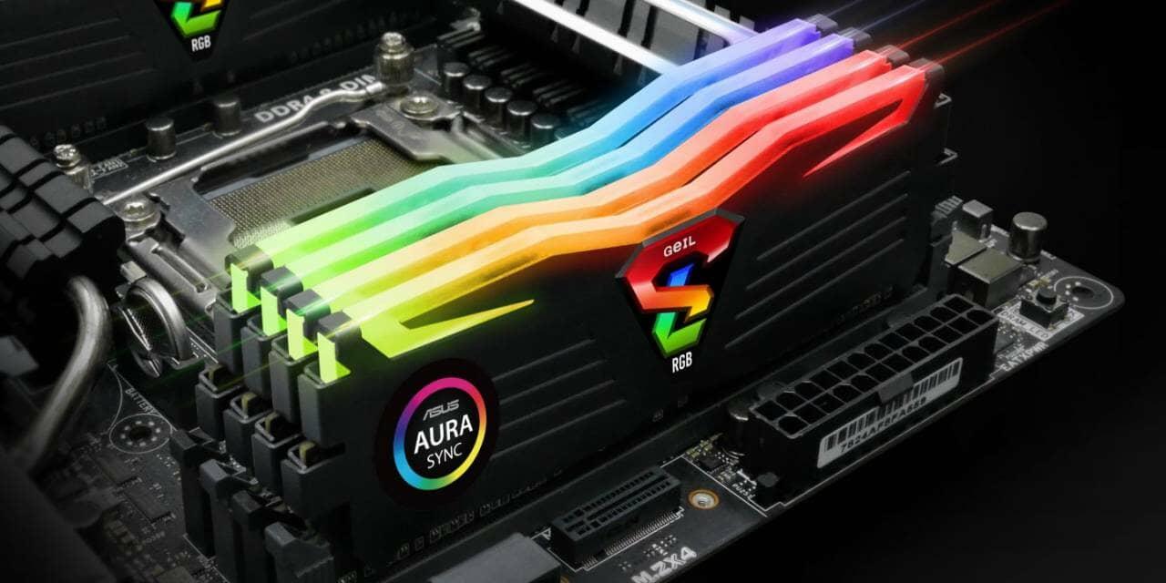 GeIL Announced SUPER LUCE RGB Series Gaming Memory Featuring RGB Illumination