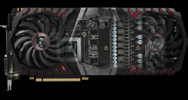 MSI ANNOUNCES GEFORCE® GTX 1080 TI GAMING X TRIO