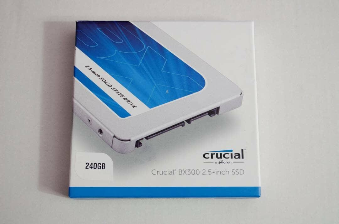 Crucial BX300 240GB SSD Box