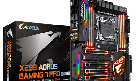 GIGABYTE Unveils X299 AORUS Gaming 7 Pro Motherboard