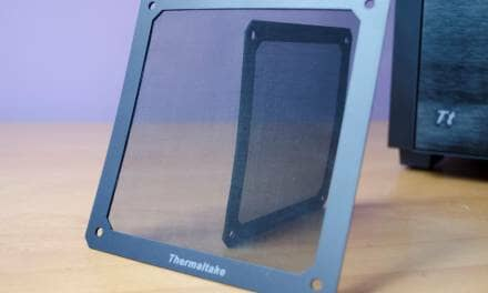Thermaltake Matrix D Series 120mm and 140mm Magnetic Fan Filters Review