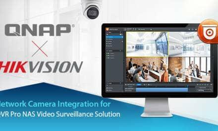 QNAP Integrates Hikvision H.265 Network Cameras