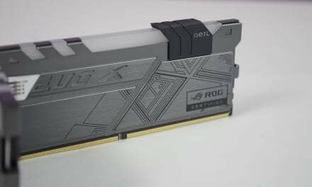 Geil DDR4 EVO X ROG-CERTIFIED Dual Channel Kit Review