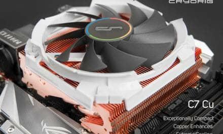 CRYORIG releases Full Copper C7 Cu Heatsink