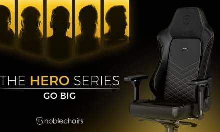 noblechairs Launches New HERO Series