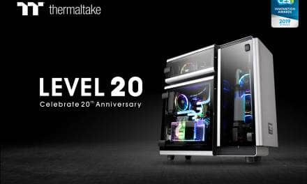 Thermaltake Level 20 Wins the 2019 CES Innovation Award