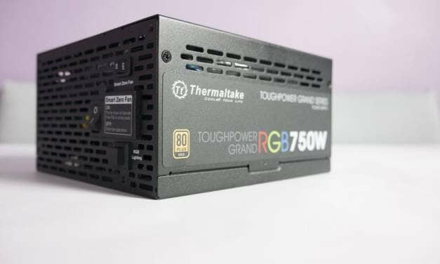 Thermaltake Toughpower Grand Series RGB 750W and 850W Power Supply Overview